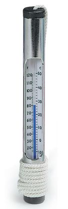 R141086: #130 CHROME THERMOMETER R141086