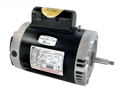 B128: 1 HP THRD. SHAFT MOTOR B128