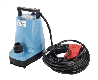 5MSP: 1200 GPH WATER WIZARD PUMP 5MSP