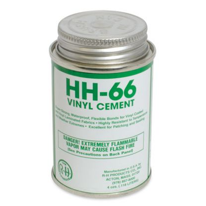 HH664OZCS: 12X1 CAN VINYL CEMENT 4OZ HH664OZCS