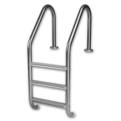 L3E049S: 3 STEP ECONOMY IG LADDER STAINLESS L3E049S