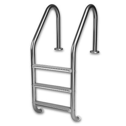L3049S: 3 STEP STANDARD IG LADDER STAINLESS L3049S