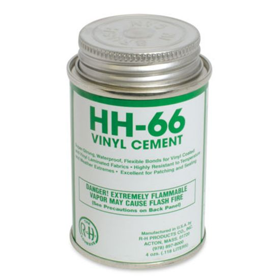 HH664OZEACH: 4OZ CAN HH66 VINYL CEMENT HH664OZEACH