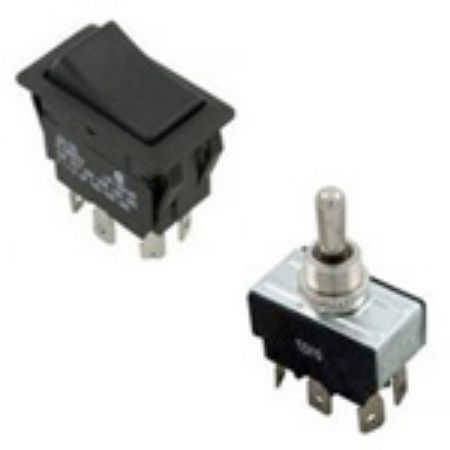 Picture for category Switches: Rocker & Toggle