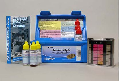 TTK2000: BASIC LIQUID DPD TEST KIT HIGH TTK2000