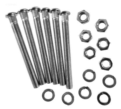 AST07643R2222: BOLT WASHER NUT KIT 1.9 AST07643R2222