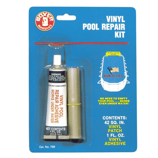 759CS: BOXER POOL REPAIR KIT 1OZ 759CS