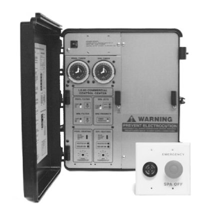 LX802: COMMERCIAL POOL AND SPA CONTROL SYSTEM LX802