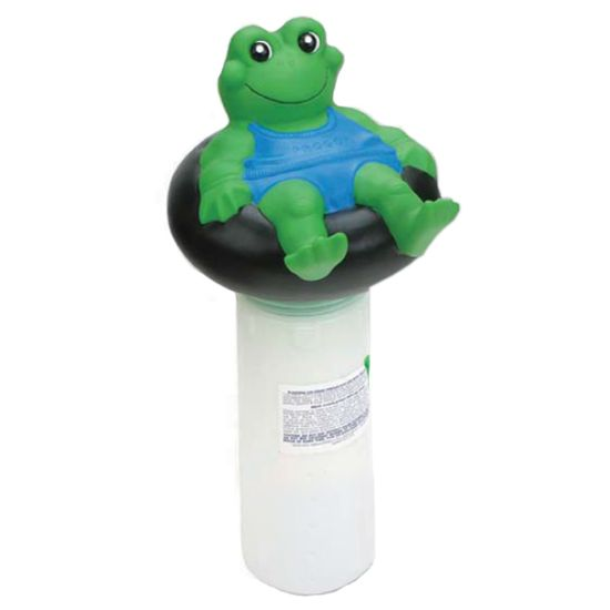 JED455: FROGGY FLOAT. CHLORINE DISPENSER JED455