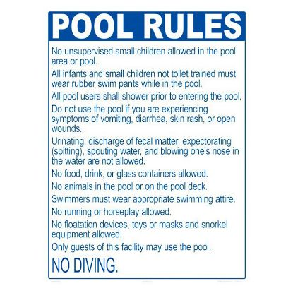 2046WS1824E: POOL RULES ME ONLY 2046WS1824E