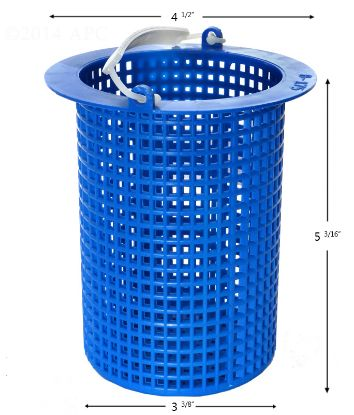 APCB175: PUMP BASKET JACUZZI / MARLOW 16024002 380750 POWDER COATED APCB175