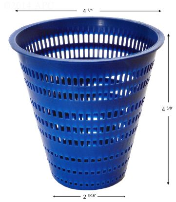 APCB211: PUMP BASKET MUSKIN 0976902 POWDER COATED APCB211