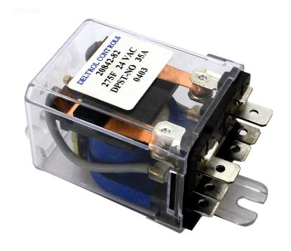 PC254: RELAY DPDT 25A 120VAC COIL PC254