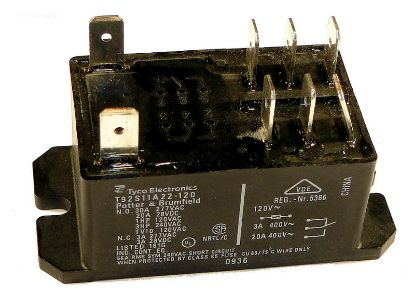 T92S11A22120: RELAY DPDT 30A 120VAC COIL T92S11A22120