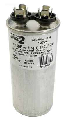 RD50370: RUN CAPACITOR 50 MFD 370VAC RD50370