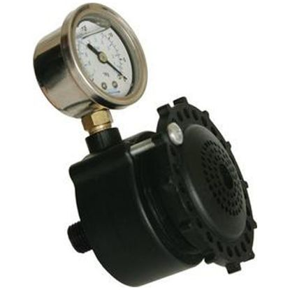 SVRS10ADJ: VACLESS ADJUSTABLE SWITCH W/ PRESSURE GAUGE SVRS10ADJ